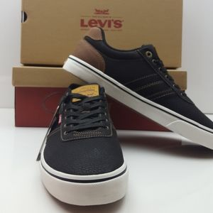 New Levis Miles Tumbled WX Mens Black Synth